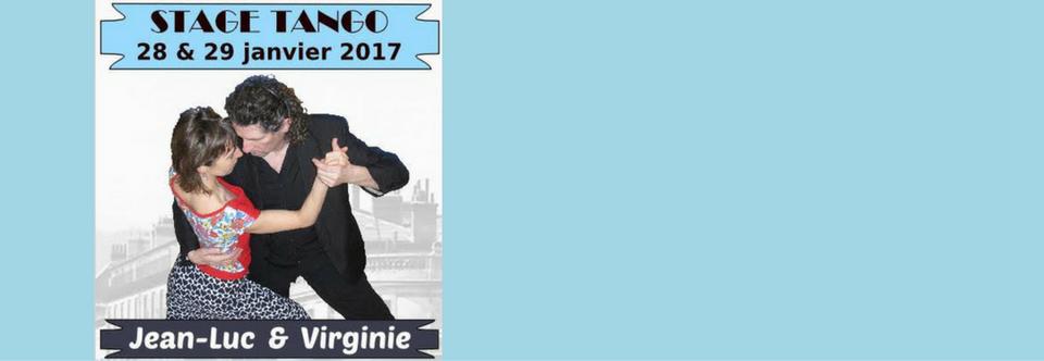 Stage de Tango J-Luc et Virginie