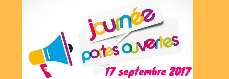 Journée portes ouvertes 17 septembre 2017